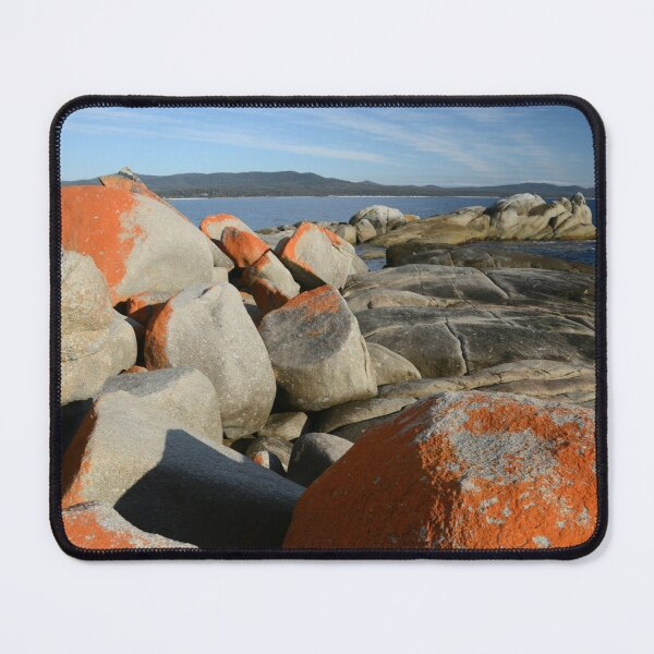 Bay of Fires Tasmania 3 Mouse Pad