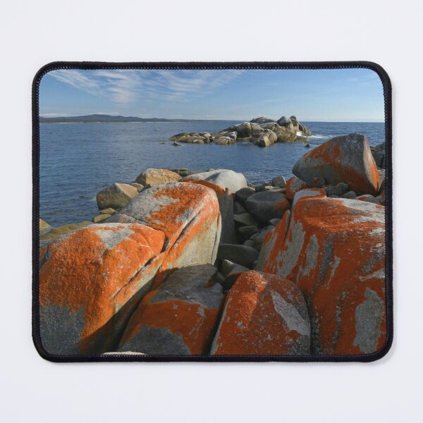 Bay of Fires Tasmania 4 Mouse Pad