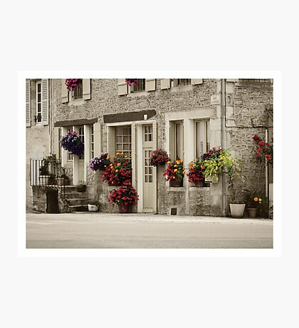 Flowers in the streets Photographic Print