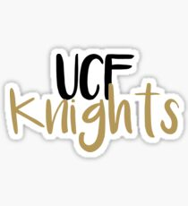 UCF Knights - University of Central Florida Sticker