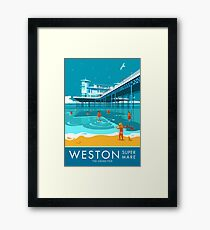 Weston super Mare, Grand Pier Framed Print