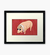 Porco Rosso Back To Home Framed Print