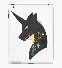 vincent the black unicorn iPad Case/Skin