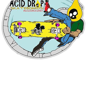 Acid Drop Skateboards - Pool Rider by grindthis