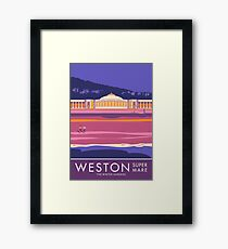 Weston super Mare, The Winter Gardens Framed Print