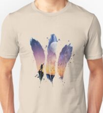 FEATHERS / MOON BALLOON Unisex T-Shirt