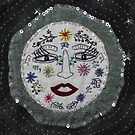 Full Moon Embroidery by Sabrina    Zarco