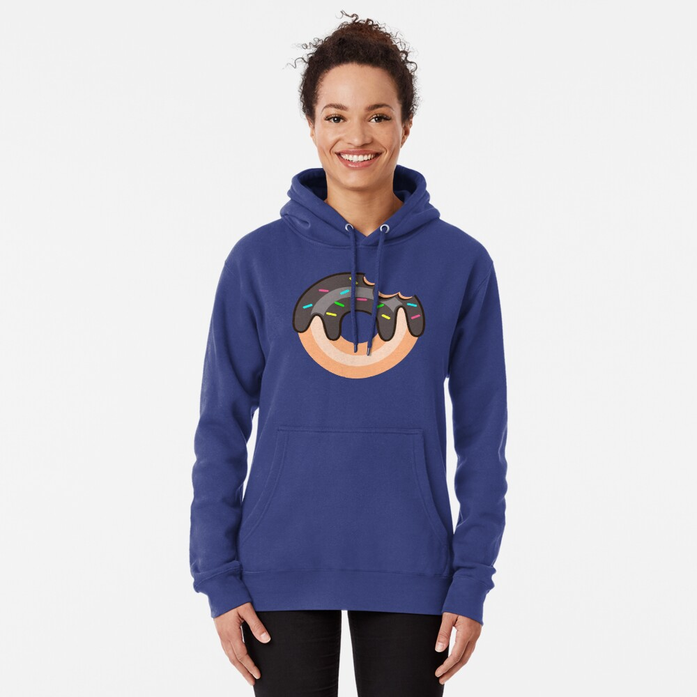 Chocolate Donut Pullover Hoodie