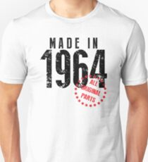 Made In 1964, All Original Parts Unisex T-Shirt