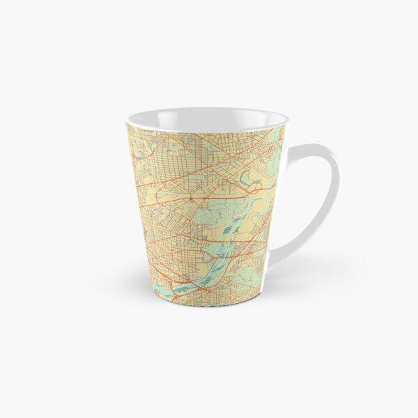 Washington Map Retro Tall Mug