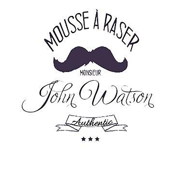 John Watson - Mousse a Raser by annyskod