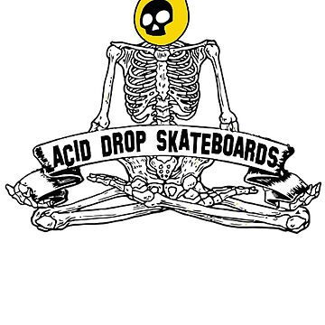 Acid Drop Skateboards - Skeleton by grindthis