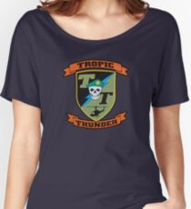 TROPIC THUNDER PATCH Women's Relaxed Fit T-Shirt