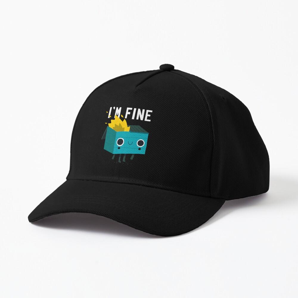 Dumpster Is Fine Cap