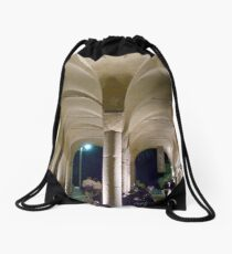 Double Archways Drawstring Bag