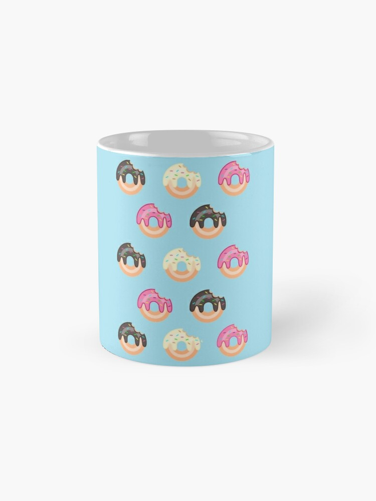 Alternate view of Triple Treat Donuts Mug