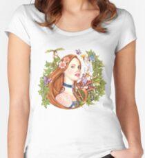 Cuento de Hadas Women's Fitted Scoop T-Shirt