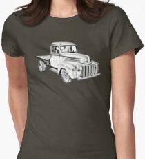 1947 Ford Flat Bed Pickup Truck Illustration T-Shirt