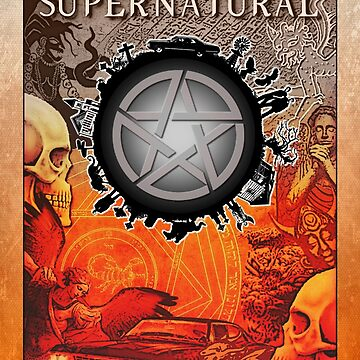 Supernatural Globe Join the Hunt by RisenShine22