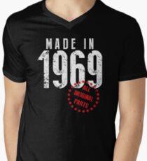 Made In 1969, All Original Parts Men's V-Neck T-Shirt