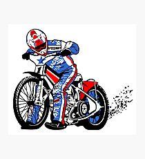 Speedway Racing Photographic Print