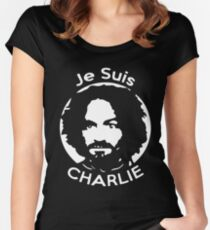 Je Suis Charlie Manson Women's Fitted Scoop T-Shirt