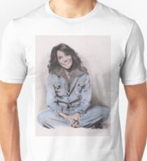 Karen Carpenter Tinted Graphite Drawing T-Shirt