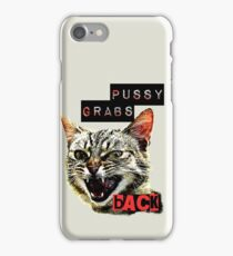 Pussy Grabs Back iPhone Case/Skin