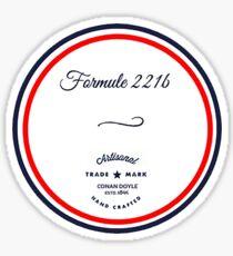 Formule 221b - Since 1895 Sticker