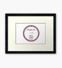 Formule 221b - Since 1895 Framed Print
