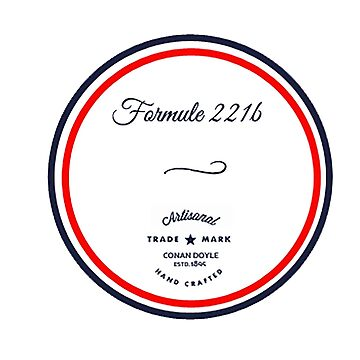 Formule 221b - Since 1895 by annyskod