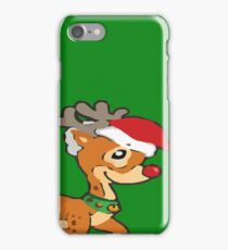 Rudolph - I don't care  iPhone Case/Skin