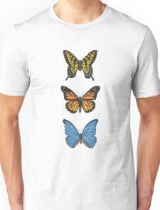 Butterflies   Triptych Series  Unisex T-Shirt