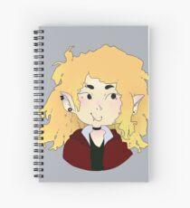 vampire oc Spiral Notebook