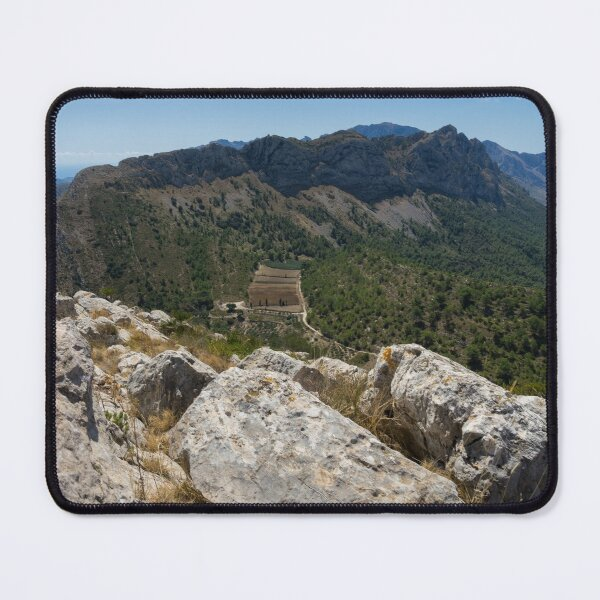 View from the summit, mountain landscape in Spain Mouse Pad