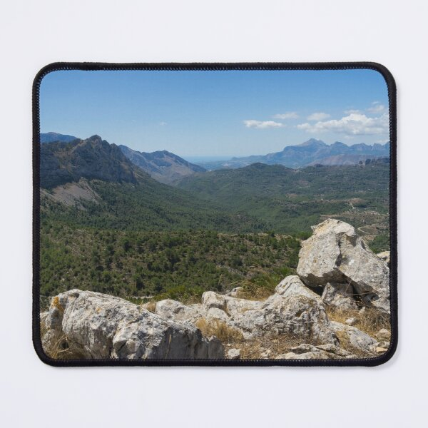 View of a beautiful mountain landscape Mouse Pad