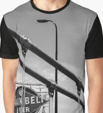 Grain Belt Beer Sign and Bridge Graphic T-Shirt