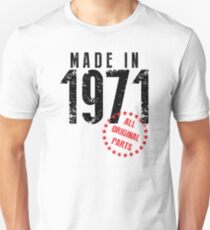 Made In 1971, All Original Parts T-Shirt
