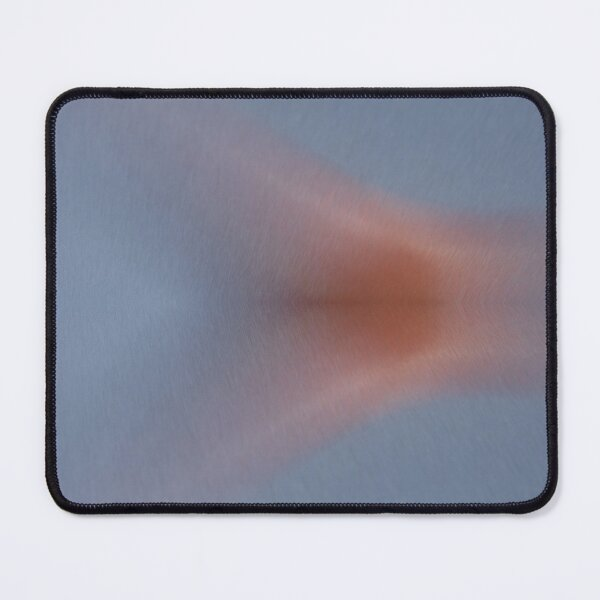 Abstract red nebula in the silver gray space Mouse Pad