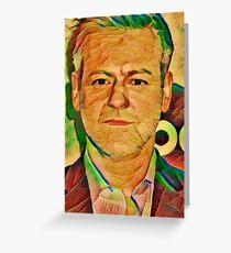 Artistic Rupert Greeting Card