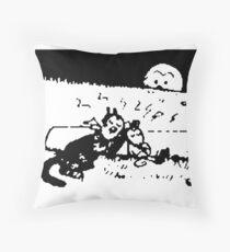 Krazy Kat Herriman Throw Pillow