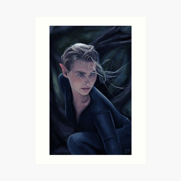 Aelin Ashryver Art Print