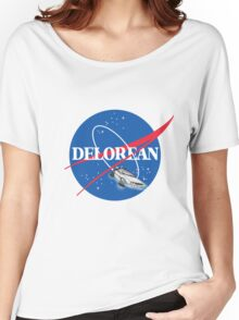 Delorean Nasa Women's Relaxed Fit T-Shirt