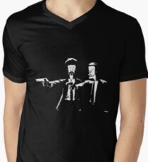 Beavis & Butthead Pulp Fiction Men's V-Neck T-Shirt