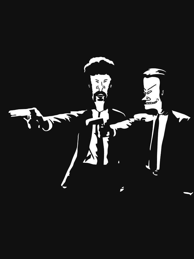Beavis & Butthead Pulp Fiction by pixel-designs