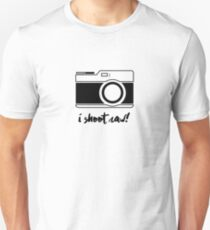 I Shoot Raw! T-Shirt