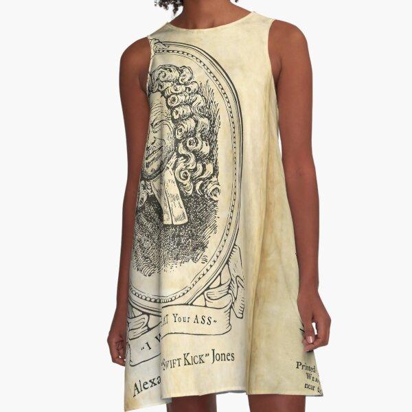 Alex Jones' Modest Proposal A-Line Dress