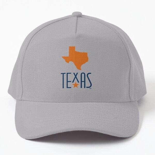 Symbols of Texas - Texas, orange Baseball Cap