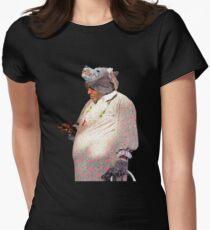Wolf Grandma Man Texting T-Shirt