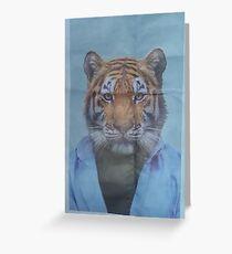 Tiger Sensei Greeting Card